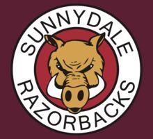 Sunnydale Razorbacks Classic Logo by Paul Elder