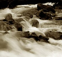 Water Falls of Kashmir by RajeevKashyap