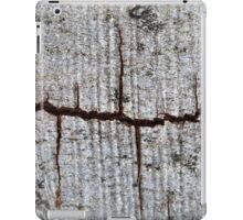 Old bark with cracks. iPad Case/Skin