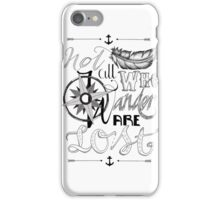 Not All Who Wander Design iPhone Case/Skin
