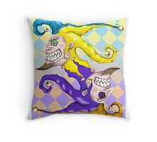 Joker Man Throw Pillow