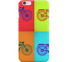 Vintage motorcycle iPhone Case/Skin