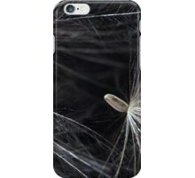 thistle seeds with a pappus iPhone Case/Skin