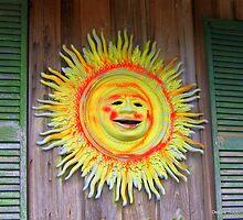 Old Sol in Cedar Key ~ 2 by Debbie Robbins