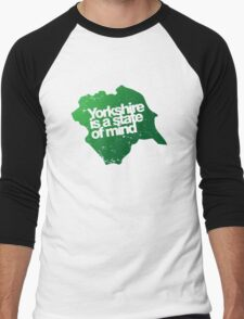 Yorkshire is a state of mind Men's Baseball ¾ T-Shirt