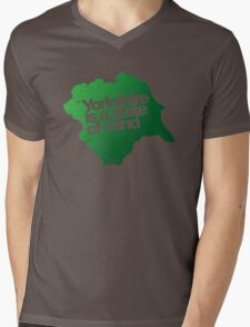Yorkshire is a state of mind Mens V-Neck T-Shirt