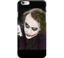 Joker And His Card iPhone Case/Skin