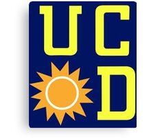 UC Sunnydale Canvas Print
