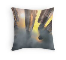 Guns in the Sky Throw Pillow