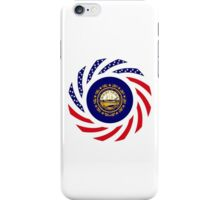 New Hampshire Murican Patriot Flag Series iPhone Case/Skin