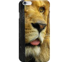 (Eye see you) Back in the jungle..Running with the animals..Roaring at the sign of the spotlight iPhone Case/Skin