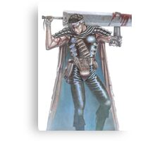 guts and his sword Canvas Print