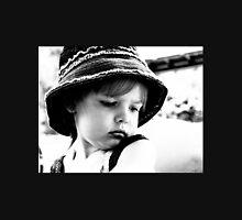 Little Girl Wearing A Hat Unisex T-Shirt
