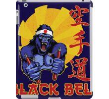Black Belt Gorilla iPad Case/Skin