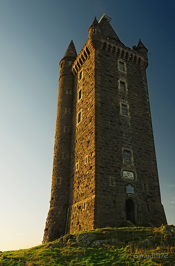 Scrabo tower after sunrise by gerard1972 redbubble for Home decor newtownards