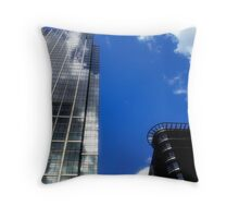 Canary Wharf 6, London, England Throw Pillow