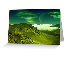 Valley of Clouds Greeting Card