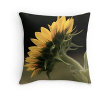 Behind the scenes of a Sunflower Throw Pillow