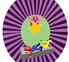 KIRBY SMASH BROS 4 by HenryBourke767