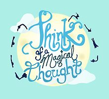 Think of a Magical Thought by aigarcia