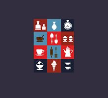 Household items on a colorful background T-Shirt