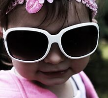 In Pink... Looking Cool by Evita