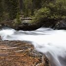 Upper Copeland Falls Top by John  Sperry