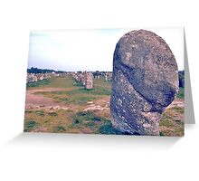 Carnac Greeting Card