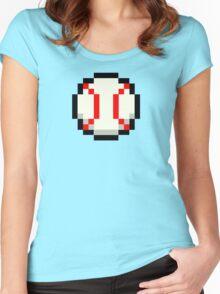 Pixel Baseball Women's Fitted Scoop T-Shirt