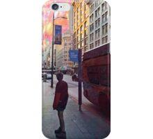 Urban Street Past Present Future iPhone Case/Skin