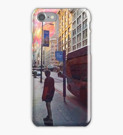 Urban Street Past Present Future iPhone Case/Skin