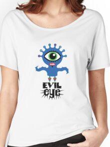 Evil Eye - on lights  Women's Relaxed Fit T-Shirt