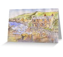 Port Quin Greeting Card