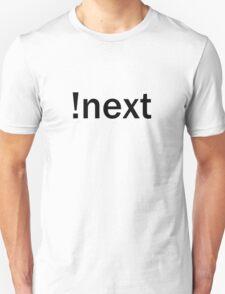 !next - Black Text T-Shirt