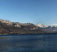 Lake Annecy by Kiriel