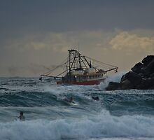 Tweed trawler (cal image #2) by Odille Esmonde-Morgan