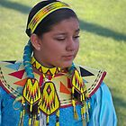 Beautiful Native American Girl by Diane Trummer Sullivan