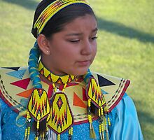 Beautiful Native American Girl by kodakcameragirl