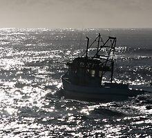 Tweed trawlers (cal image #3) by Odille Esmonde-Morgan