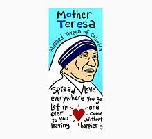 Mother Teresa Religious Pop Folk Art Unisex T-Shirt