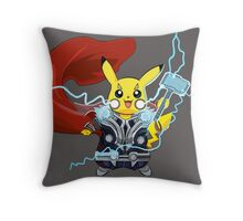 By The Power of Thorchu! Throw Pillow