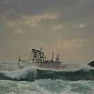 Tweed trawlers (cal image #6) by Odille Esmonde-Morgan