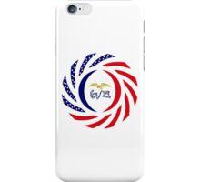 Iowa Murican Patriot Flag Series iPhone Case/Skin