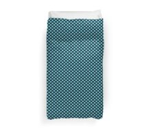 Blue Octadots Duvet Cover