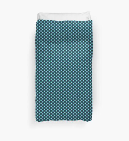 Blue Octadots Duvet Cover