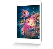 The awesome beauty of the Orion Nebula  Greeting Card