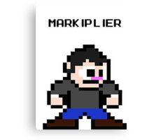 NES style 8-Bit Markiplier Fan Art  Canvas Print