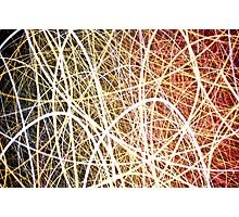 Light Spaghetti Photographic Print