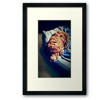 Groodle Puppy Zoe Framed Print