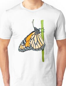 Monarch Butterfly (side view) Unisex T-Shirt